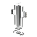 DKC 09591 Колонна алюминиевая 0,71 м, цвет серый металлик, фото 2