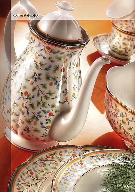 Чайно-столовый сервиз   Флора комплект на 12 персон от Цептер