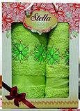 Подарок для женщины - Набор из махровых полотенец. Турция. Хлопок., фото 5
