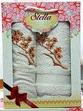 Подарок для женщины - Набор из махровых полотенец. Турция. Хлопок., фото 6