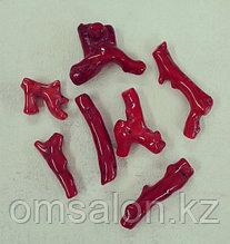 Веточки красного коралла