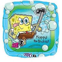 Спанч Боб с днем рождения - Квадрат