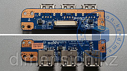 USB порт, плата, разъем DAOHK1TB6EO на SONY VAIO PCG-71812V