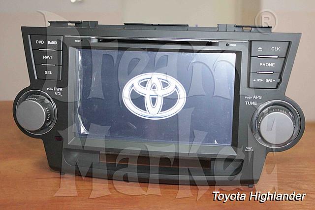 Автомагнитола для автомобиля Toyota Highlander с 2006 г.в.