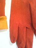 Перчатки резиновые утепленные, фото 3