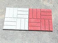 """Тротуарная плитка 3 см """"Паркет"""" серый, фото 1"""