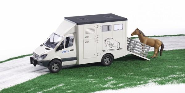 Mercedes Benz Sprinter фургон с лошадью Алматы