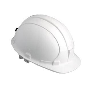 Каска защитная строительная (белая)