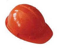 Каска защитная строительная (оранжевая)