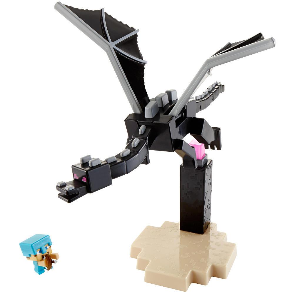 """Minecraft mini - Набор """"Край"""" (Дракон против Стива)"""