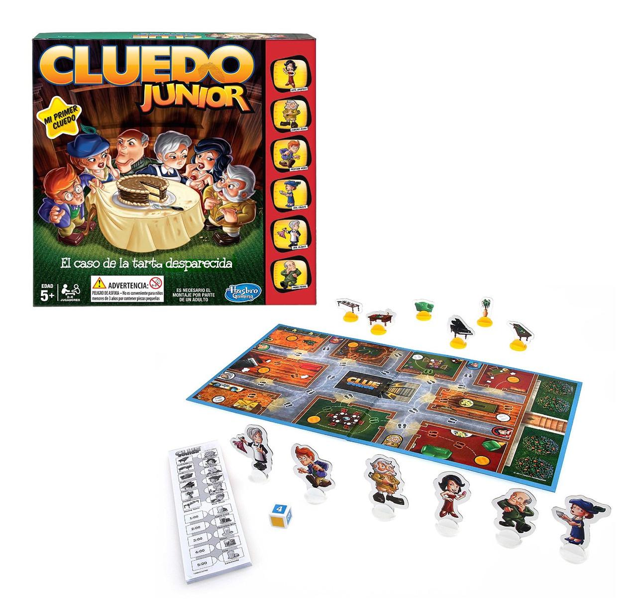 """Hasbro Настольная игра Cluedo Junior """"Дело о пропавшем торте"""""""