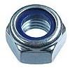 Гайка с нейлоновым кольцом DIN 985 М18