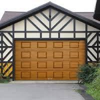 Ворота гаражные секционные RSD01 BIW, фото 1