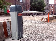 Шлагбаумы электрические, фундамент для шлагбаума
