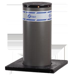 Противотаранный гидравлический боллард GRIZZLY 275/600-6 SCT LIGHT VERN нержавейка