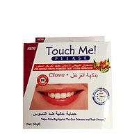 Зубной порошок для отбеливания зубов Touch Me Clove