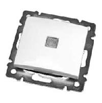 Legrand Valena Белый Выключатель 1-клавишный с подсветкой (774410)