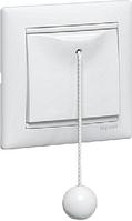 Legrand Valena Белый Выключатель кнопочный со шнурком (774419)