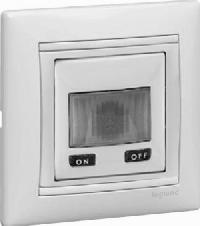 Legrand Valena Белый Датчик движения Стандарт 40-320 Вт для л/н 2-х проводная схема подключения (774228)