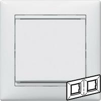 Legrand Valena Белый Рамка 2-ая гориз  (774452)