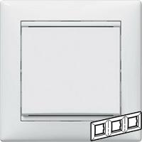 Legrand Valena Белый Рамка 3-ая гориз  (774453)