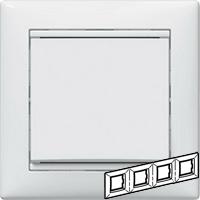 Legrand Valena Белый Рамка 4-ая гориз  (774454)