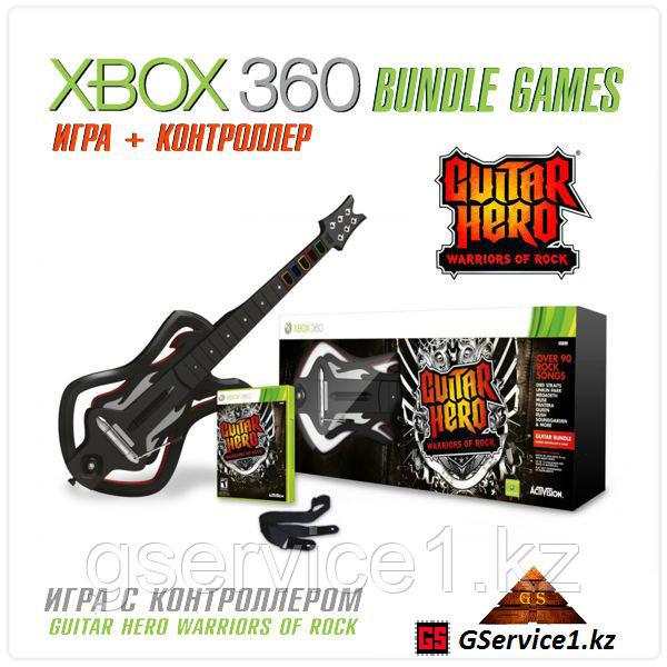Guitar Hero Warriors of Rock Guitar Bundle (Xbox 360)