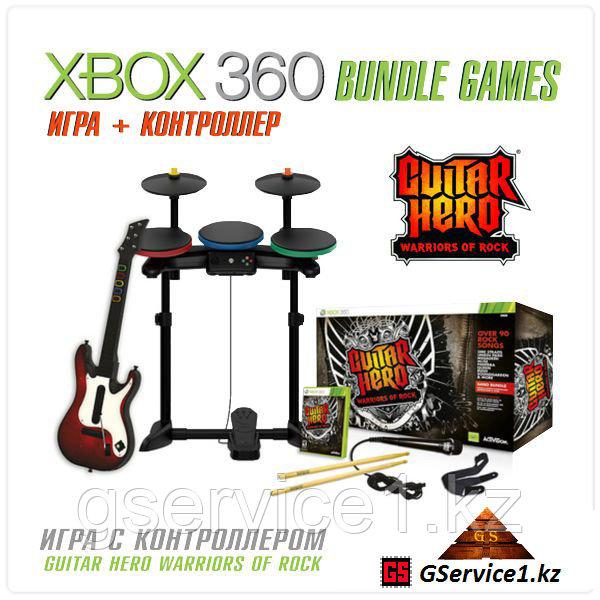Guitar Hero Warriors of Rock Band Bundle (Xbox 360)