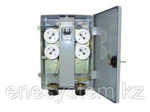 Ящики розеточные с выключателем