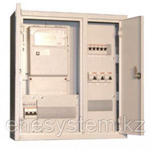 Шкафы распределения и учета электроэнергии с автоматами или УЗО