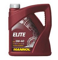 Моторное масло MANNOL Elite 5W40 SN/CF 4L