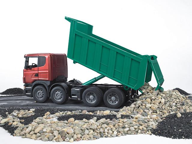 Самосвал Scania (Bruder) 03-550