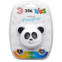 Фонарик налобный детский ЭРА «Панда» GD3-P