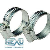 Хомут червячный стальной 50*70 металлический, для шлангов и рукавов