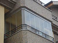 Алюминиевые балконы и лоджии, фото 1