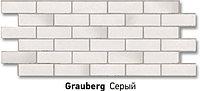 "Фасадная панель Docke-R серия ""Berg"" цвет Серый, фото 1"