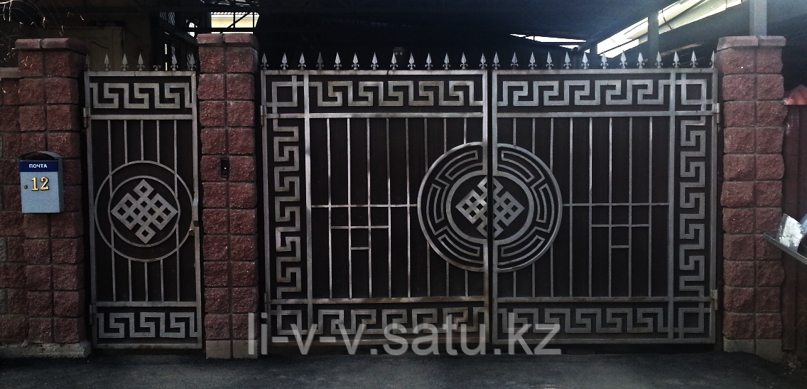 Заказать ворота в Алматы