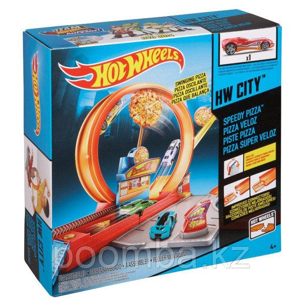 Hot Wheels Игровой набор «Скоростная пицца»
