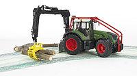 Трактор Fendt 936 Vario лесной с манипулятором, , фото 1