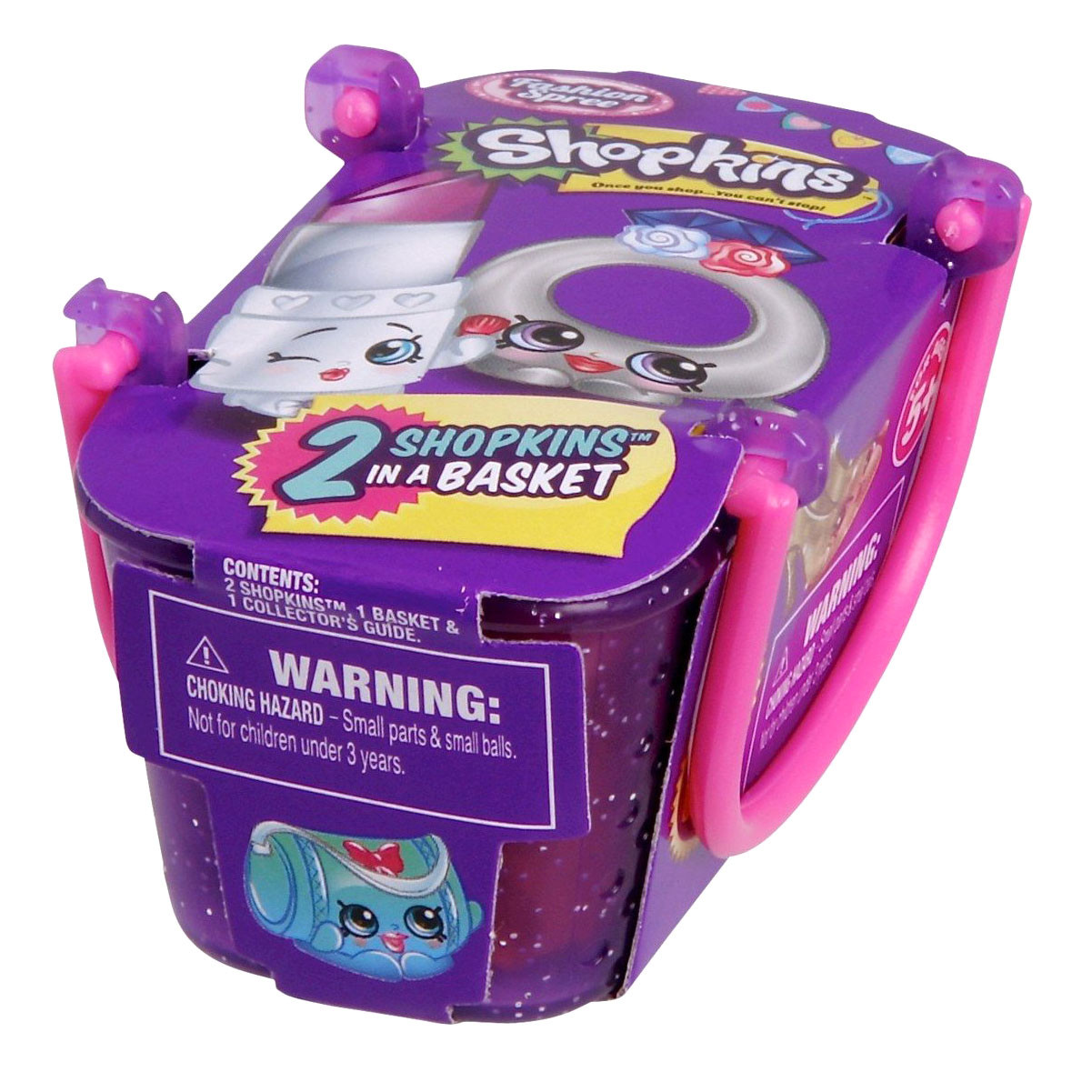 """Shopkins, Шопкинс """"Модная лихорадка"""" 2 игрушки в упаковке"""