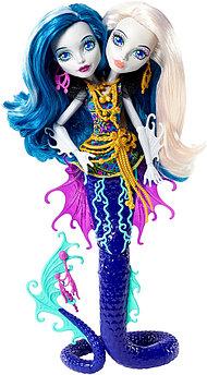 Кукла Monster High Большой кошмарный риф Перл и Пэри Серпентайн