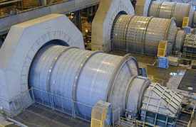 Шаровая мельница производительностью в 10 т/ч  для горной породы добывающей промышленности