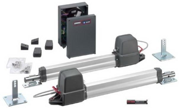 Привод для двухстворчатых распашных ворот Twist 200E  (вес створки до 200кг ширина створки до 2,5м)