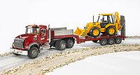 Игрушка Тягач N MACK Granite Truck с  экскаватором , фото 1