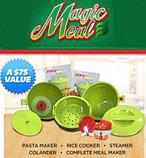 """Набор посуды """"Magic meal"""" для быстрого приготовления нескольких блюд в микроволновке. ОРИГИНАЛ!!!, фото 2"""