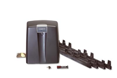 Привод для откатных ворот SG-1  (вес полотна до 500 кг., ход ворот до 6 м.)