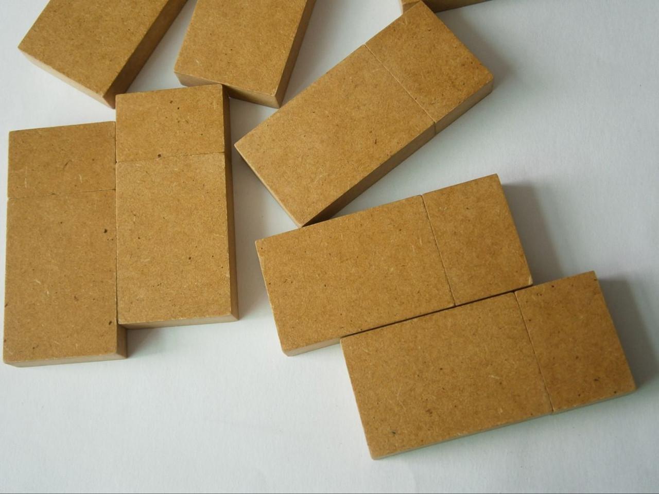 Эко флешка из бумаги 2, 4, 8, 16, 32, 64 гб под нанесение.