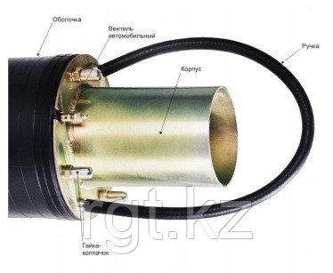 Пневмозаглушка обводная, герметизатор для трубы 200-360мм