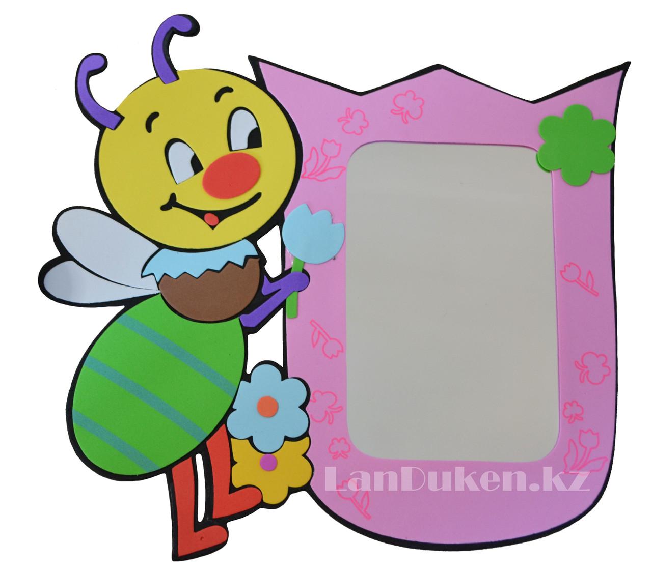 """Детское зеркало настенное """"Пчелка"""""""