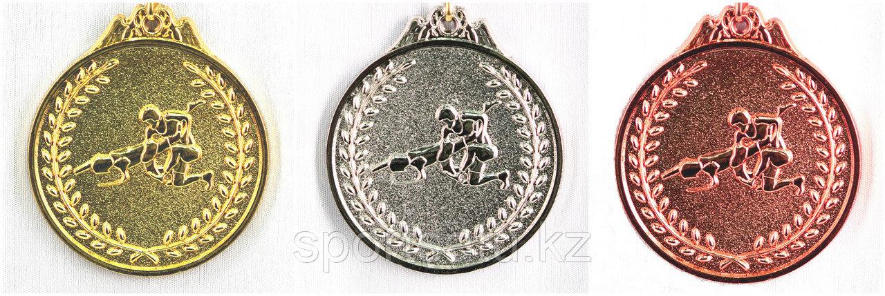 Медаль спортивная Борьба